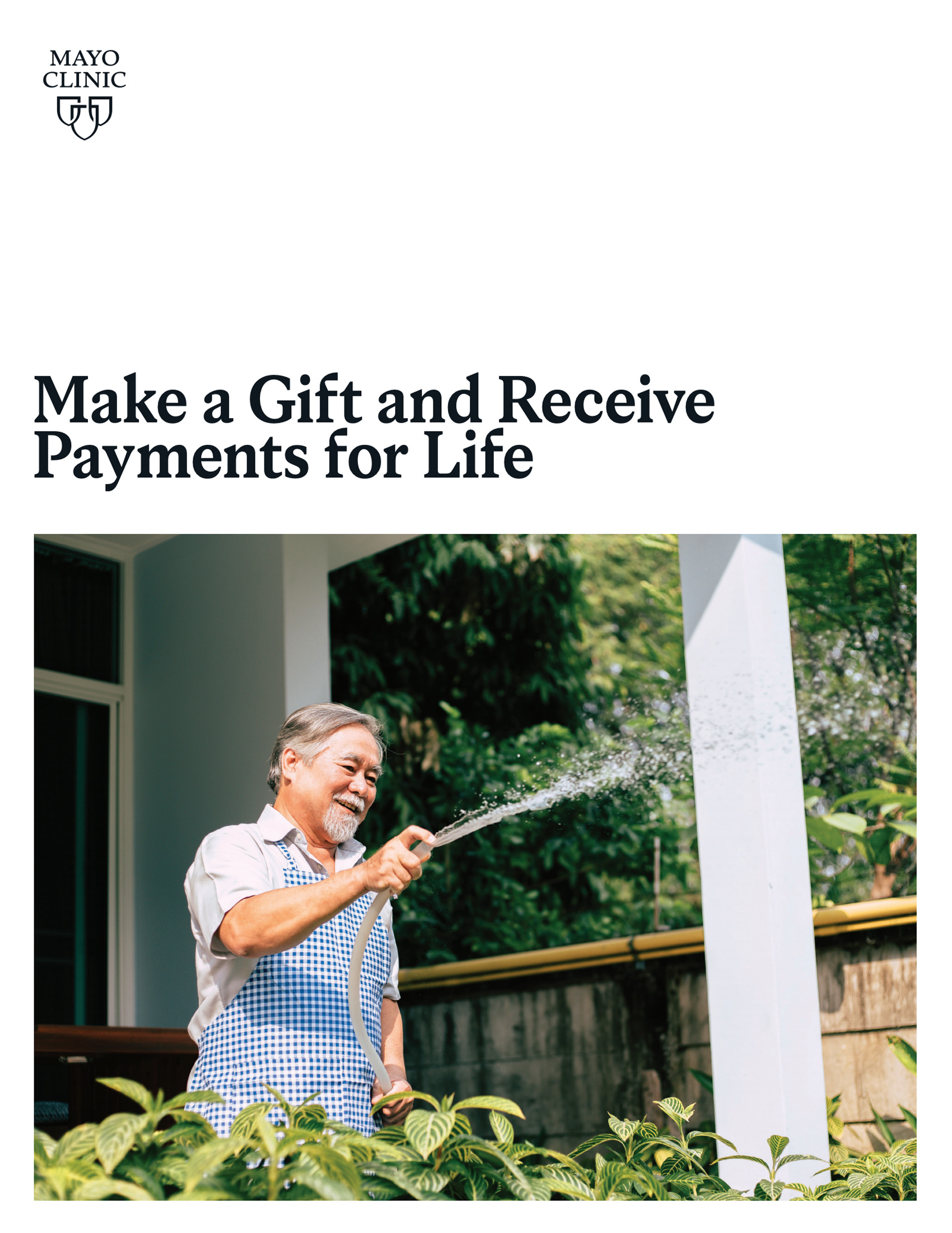 Make a Gift and Receive Payments for Life